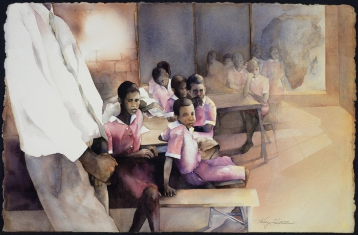THE AIDS ORPHANS OF SOUTH AFRICA